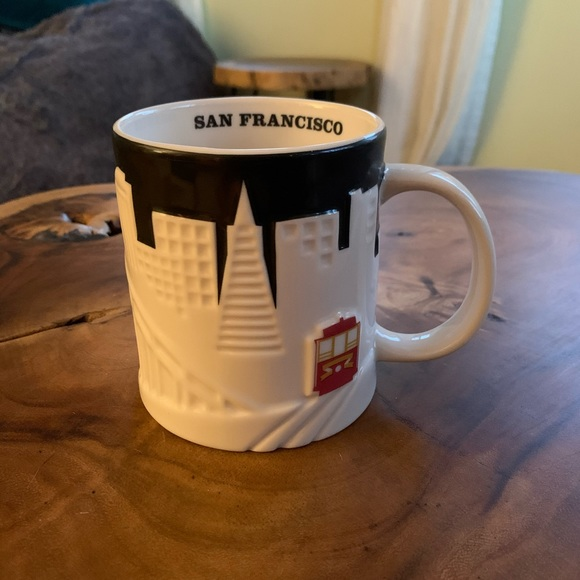 Starbucks Collectors Mugs- San Francisco